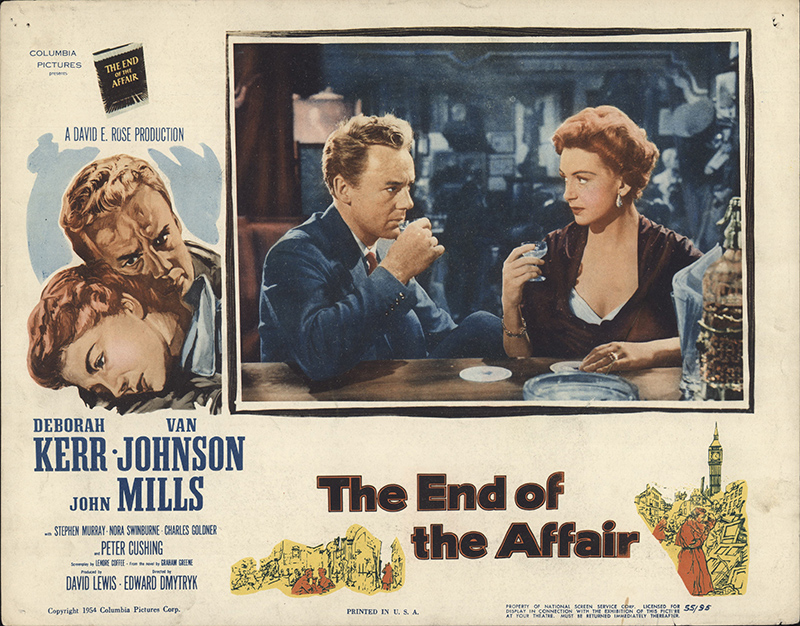 End of the Affair, The 1955 Original Lobby Card #FFF-61404 ...