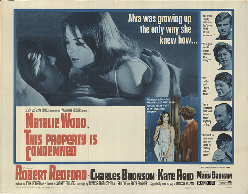 This Property Is Condemned 1966 Original Movie Poster #FFF-62277 ...