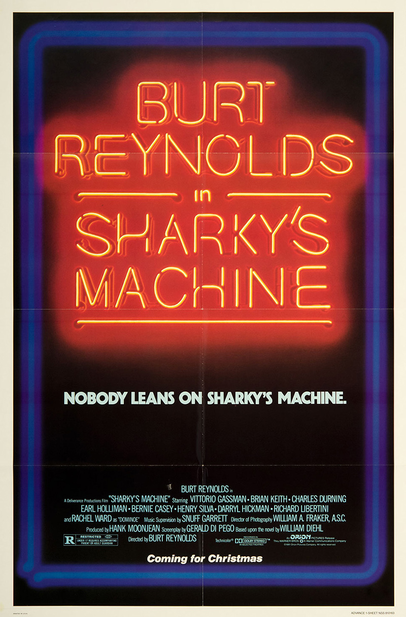 Sharky's Machine (advance)