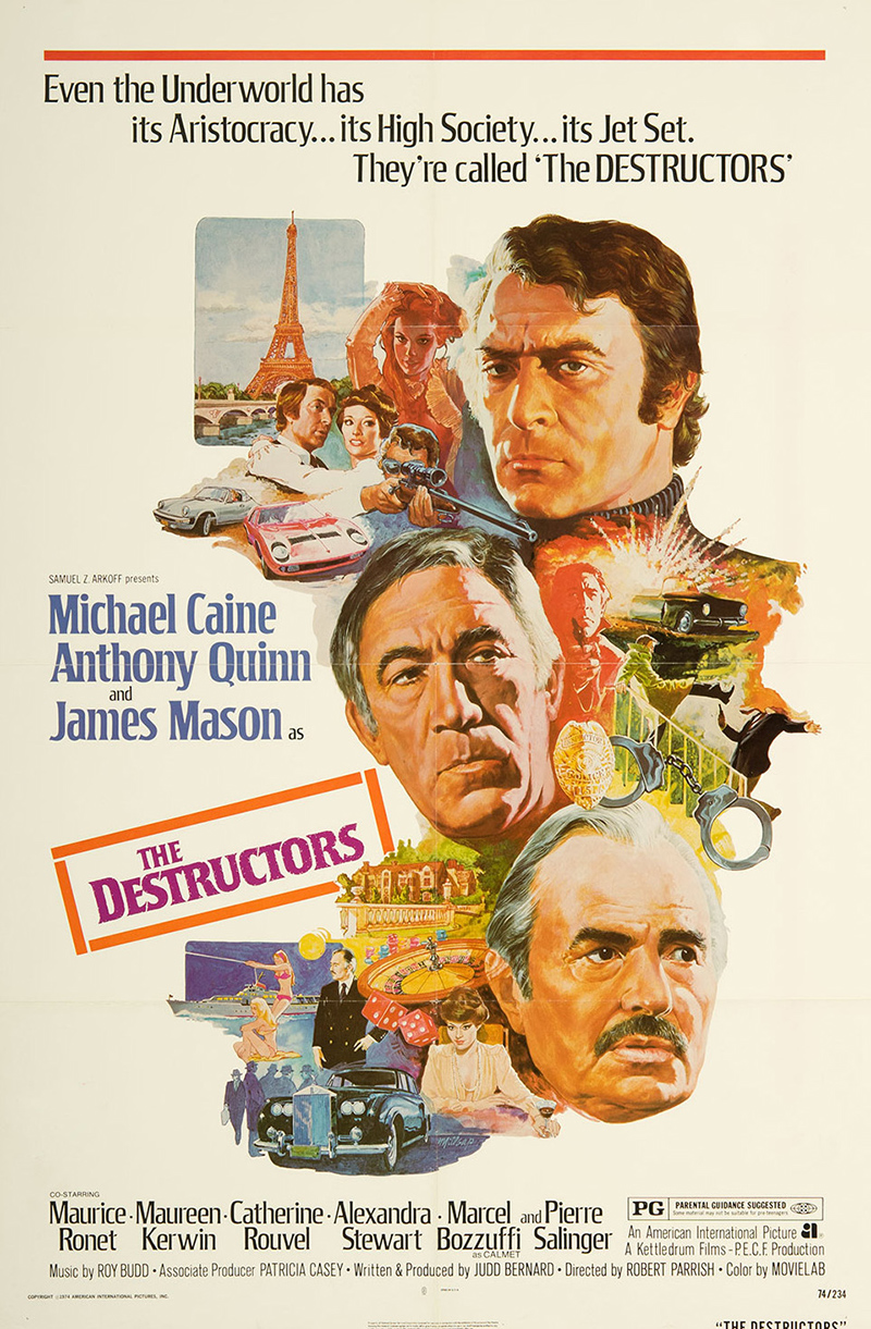 Destructors, The (The Marseille Contract)
