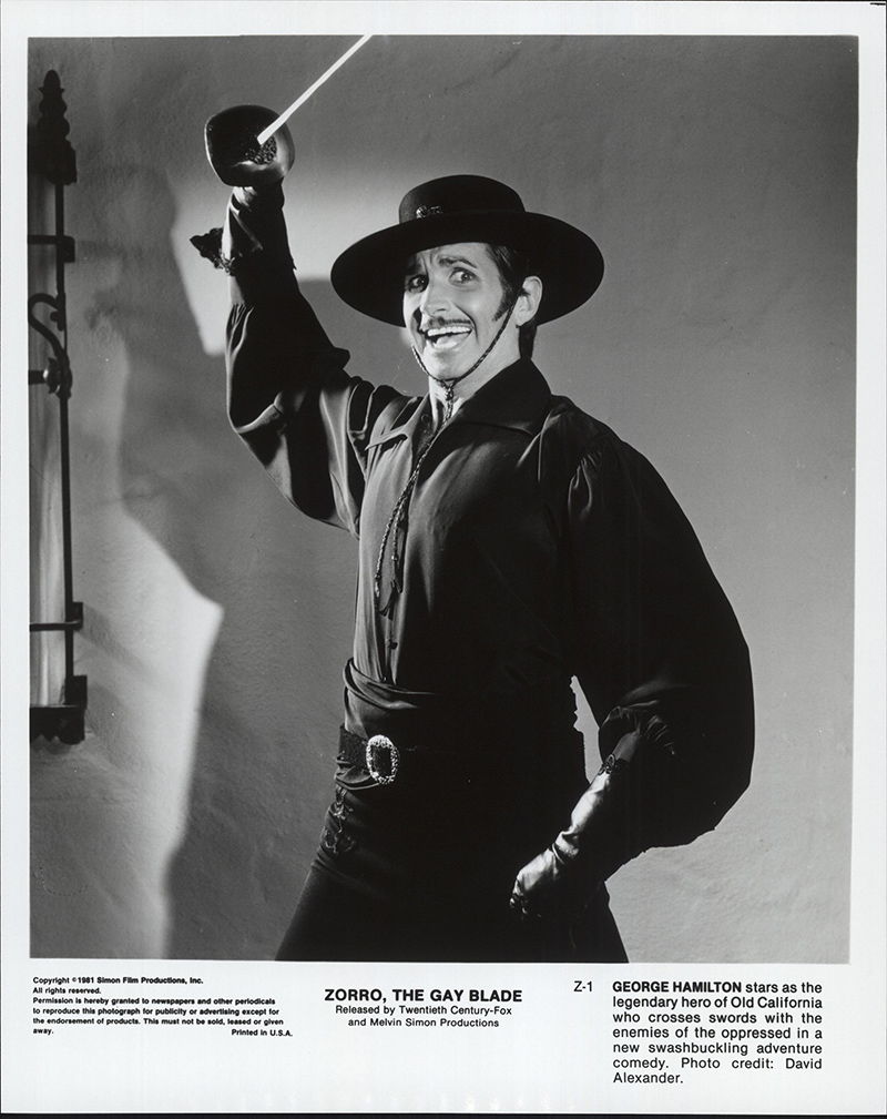 Still Pictures Are All Very Fine And >> Details About The Zorro Gay Blade 1981 8x10 Orig Movie Still Fff 63048 Very Fine