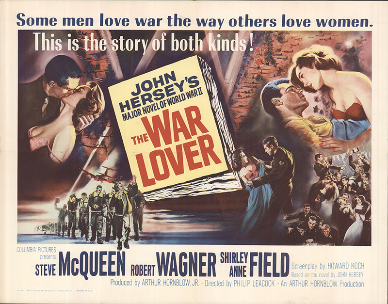 War Lover, The 1962 Original Movie Poster #FFF-63292 ...
