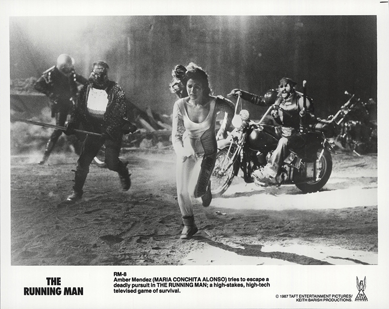 Still Pictures Are All Very Fine And >> Details About The Running Man 1987 8x10 Orig Movie Still Fff 63496 Fine Very Fine