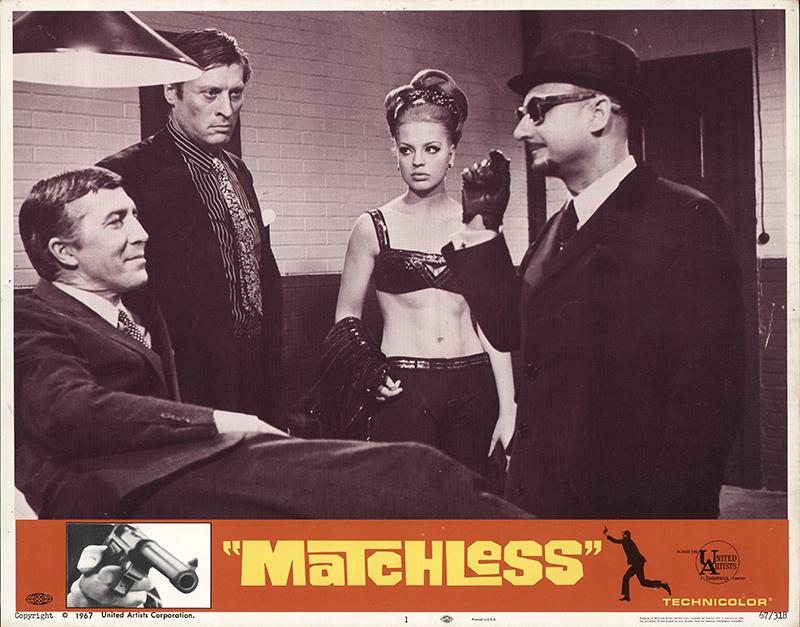 matchless 1967 cast