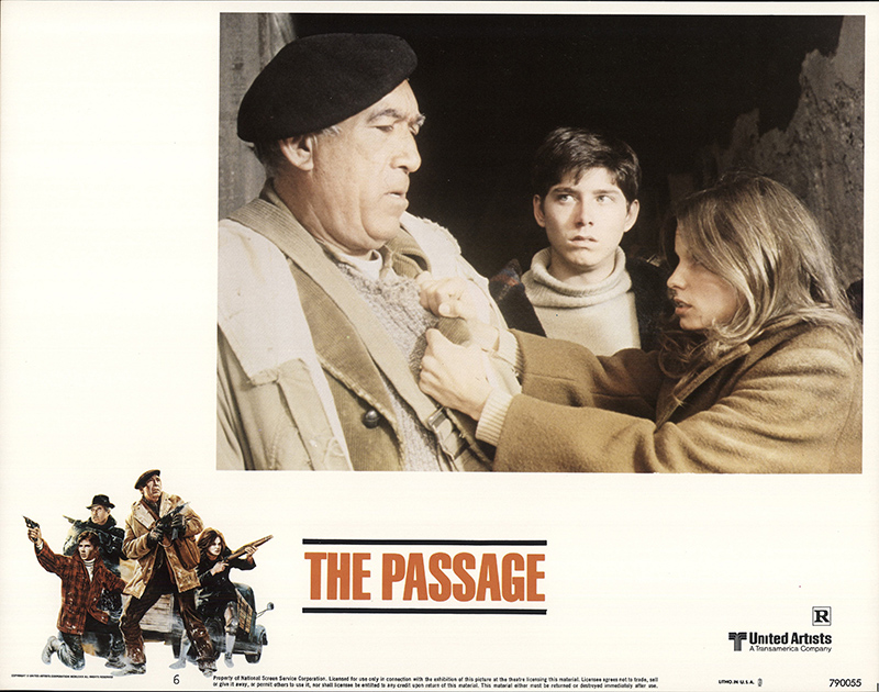 The Passage 1979 11x14 Orig Lobby Card Fff 64489 Very Fine Anthony