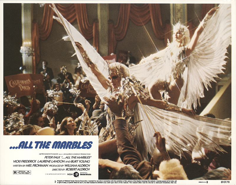 All The Marbles : All the marbles original lobby card fff