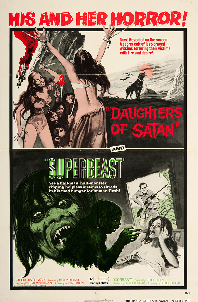 Combo. Daughters of Satan / Superbeast (72)