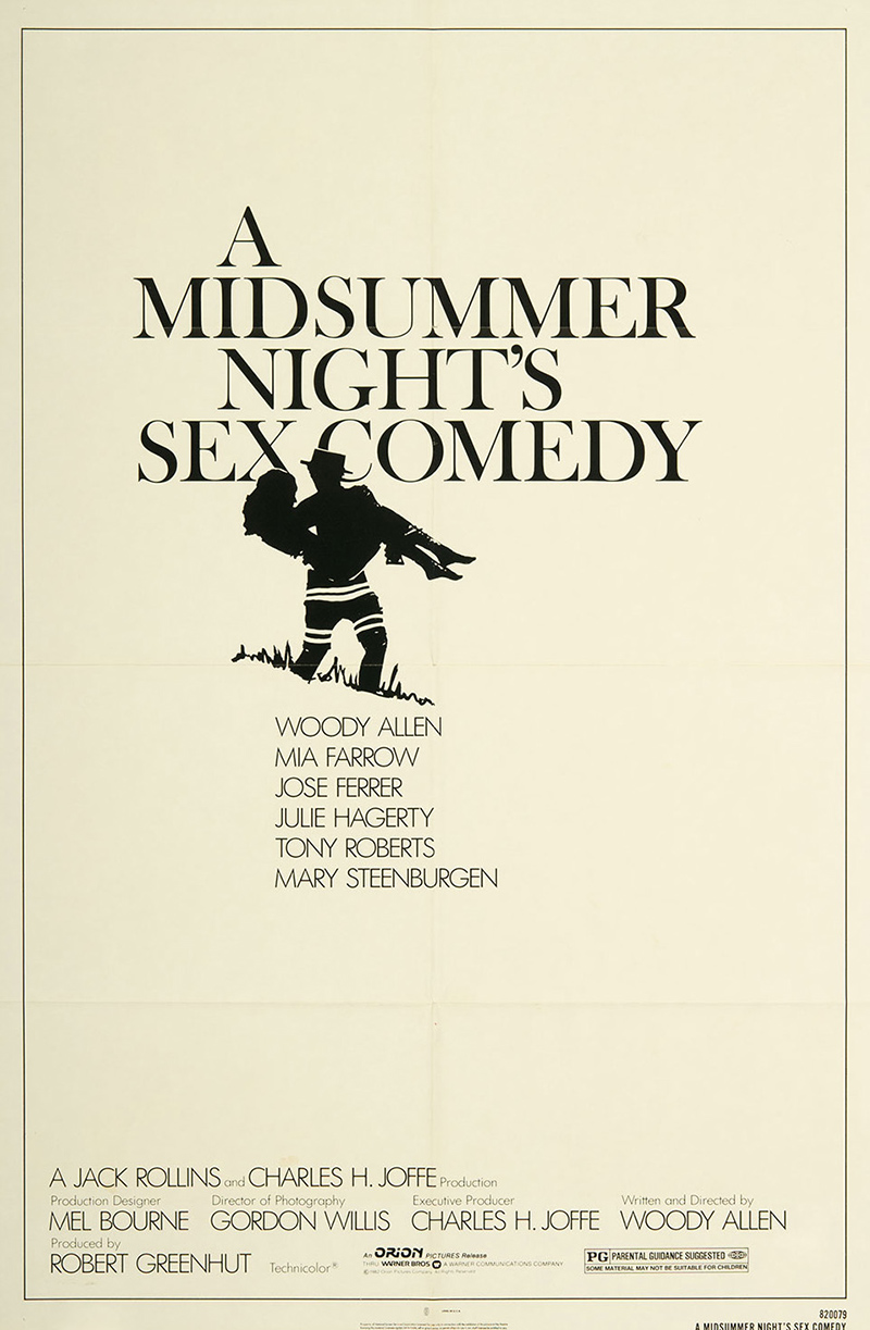 Midsummer Night's Sex Comedy, A