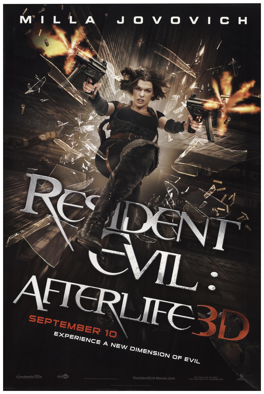 Resident Evil Afterlife 2010 Original Movie Poster Fff 67143 Fffmovieposters Com