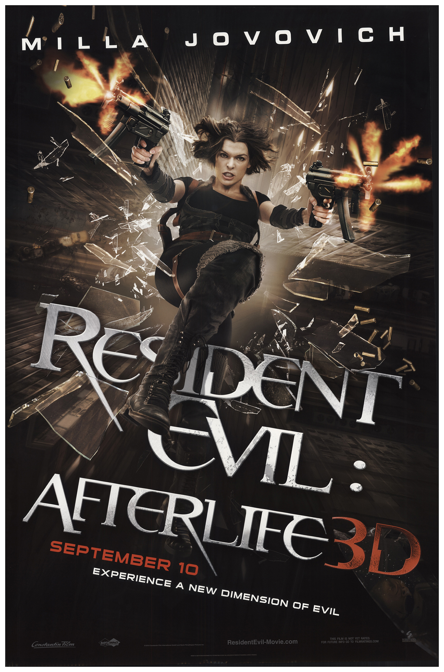 Resident Evil Afterlife 2010 Original Movie Poster Fff 67145 Fffmovieposters Com
