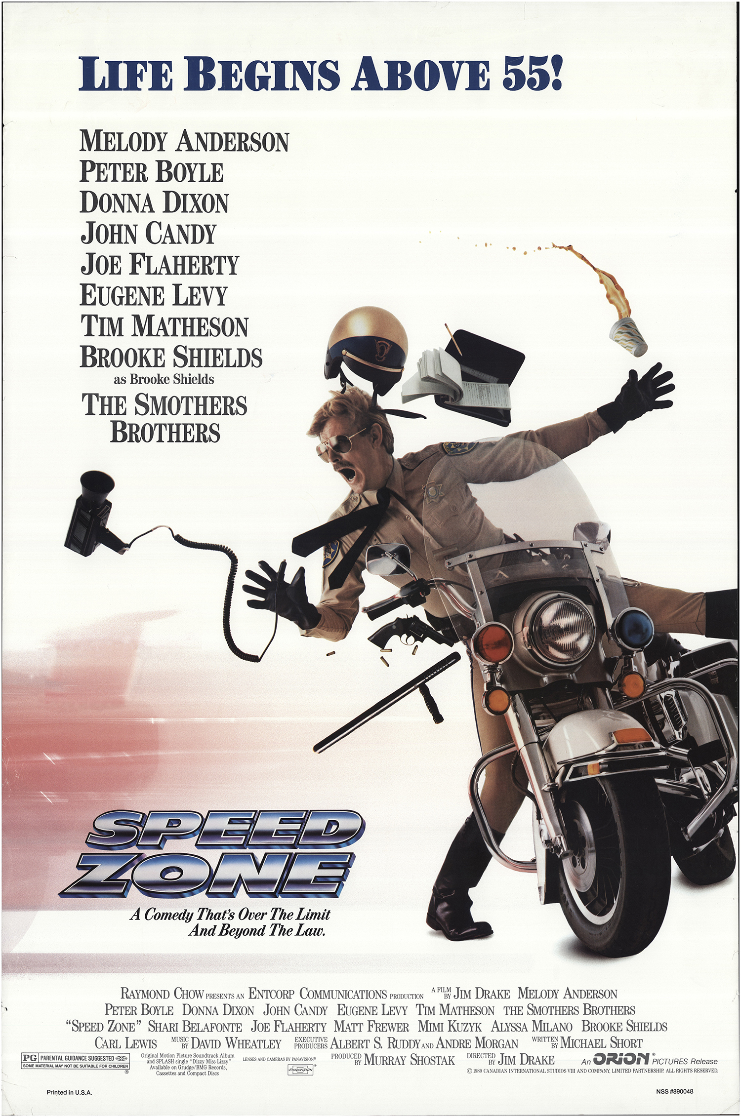 USA LICENSED Donna Dixon Speed Zone Movie POSTER 27 x 40 John Candy NEW