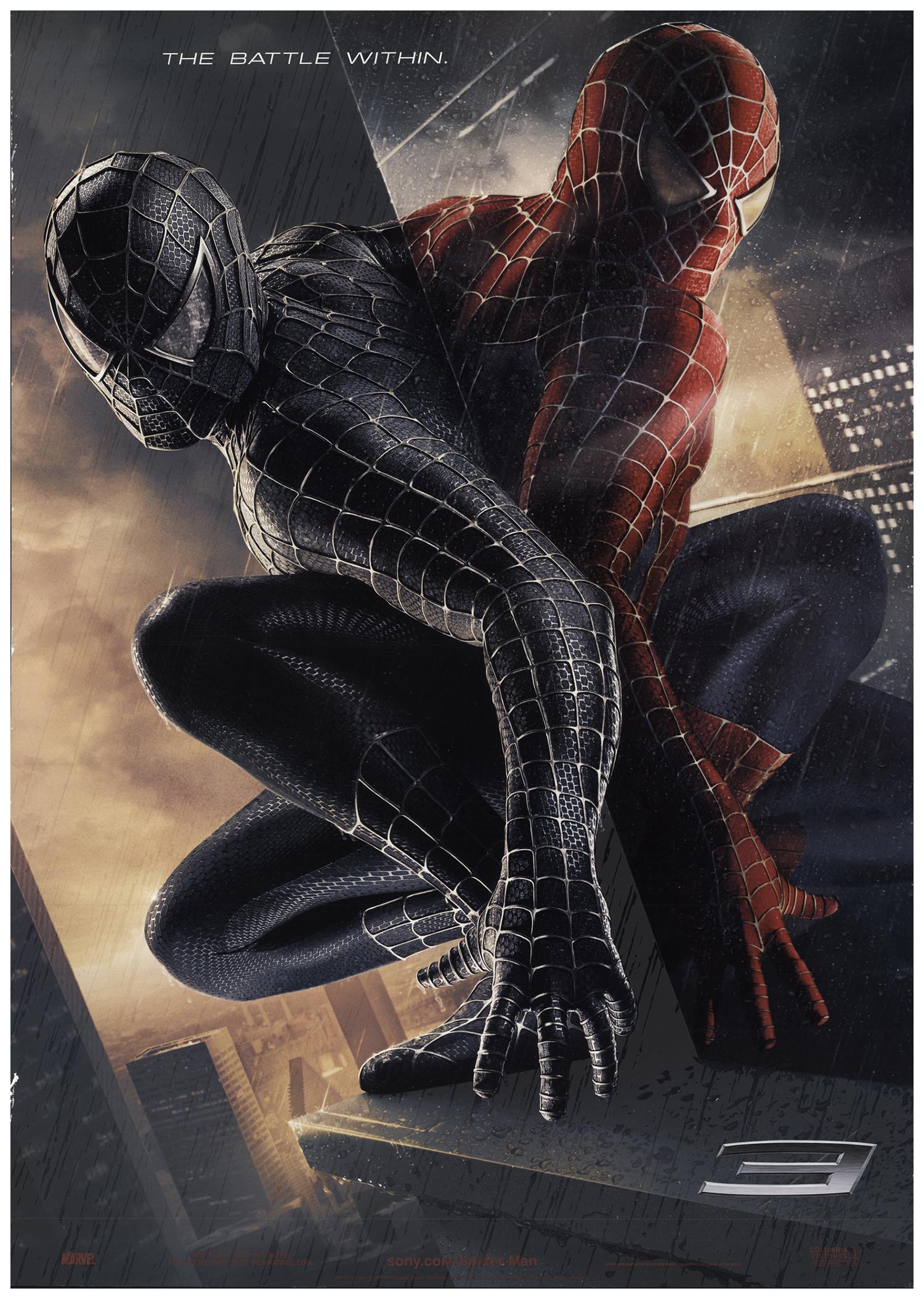 spider-man 3 2006 27x40 orig movie poster fff-67271 rolled fine