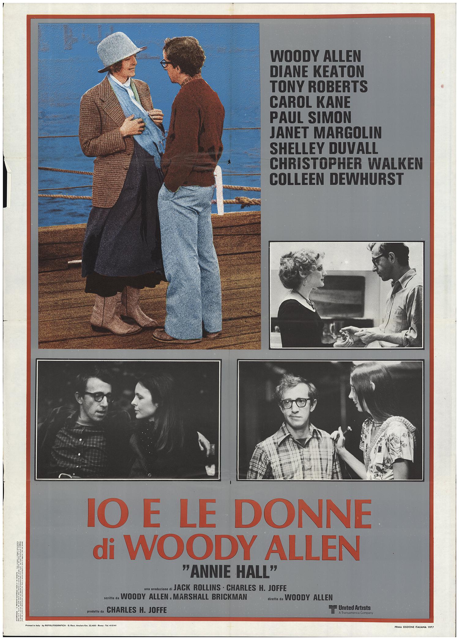 Annie Hall 1977 Original Movie Poster #FFF-67746 | FFFMovieposters.com