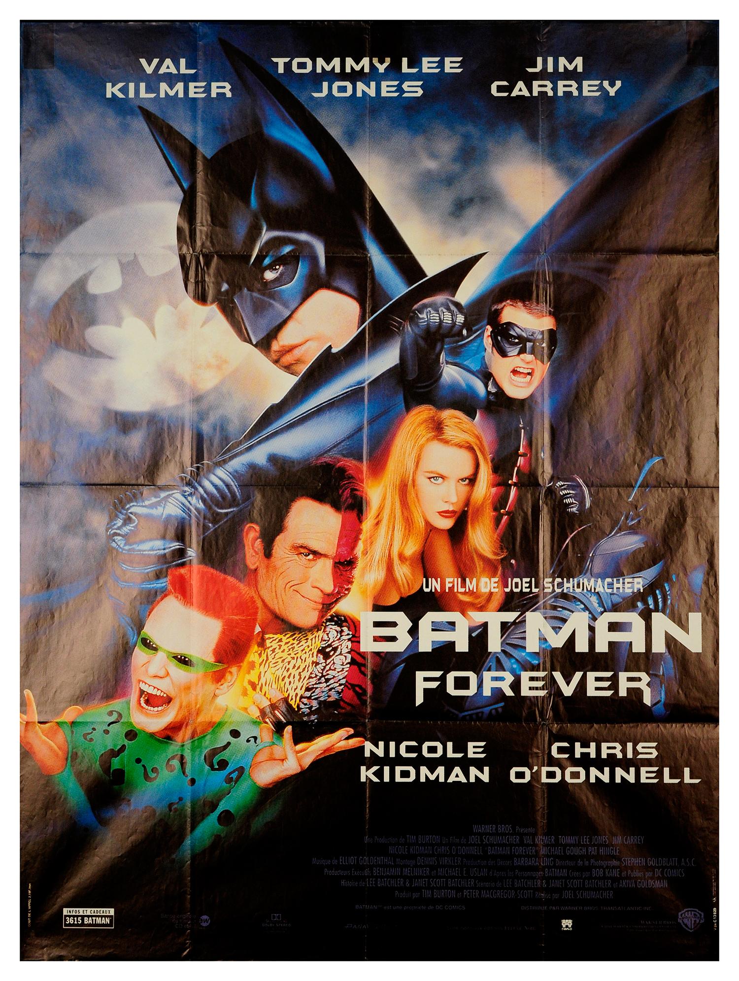Batman Forever 1995 Original Movie Poster Fff 67779 Fffmovieposters Com