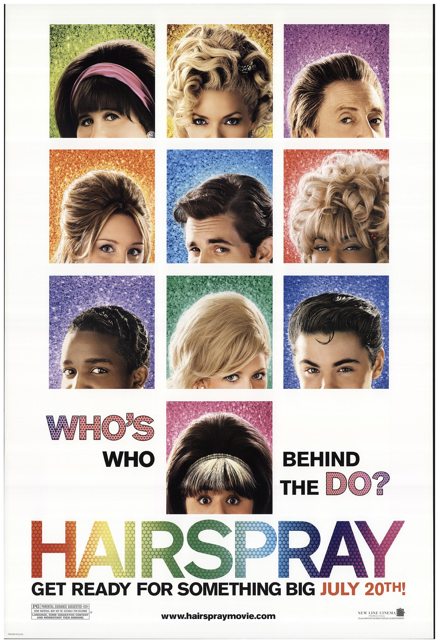 Hairspray 2007 Original Movie Poster #FFF-67834 | FFFMovieposters.com