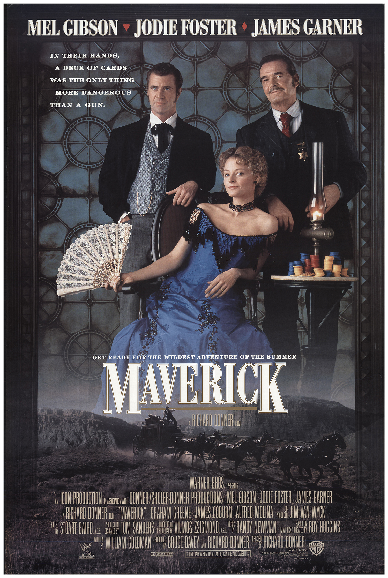 Maverick 1994 Original Movie Poster Fff 67889 Fffmovieposters Com