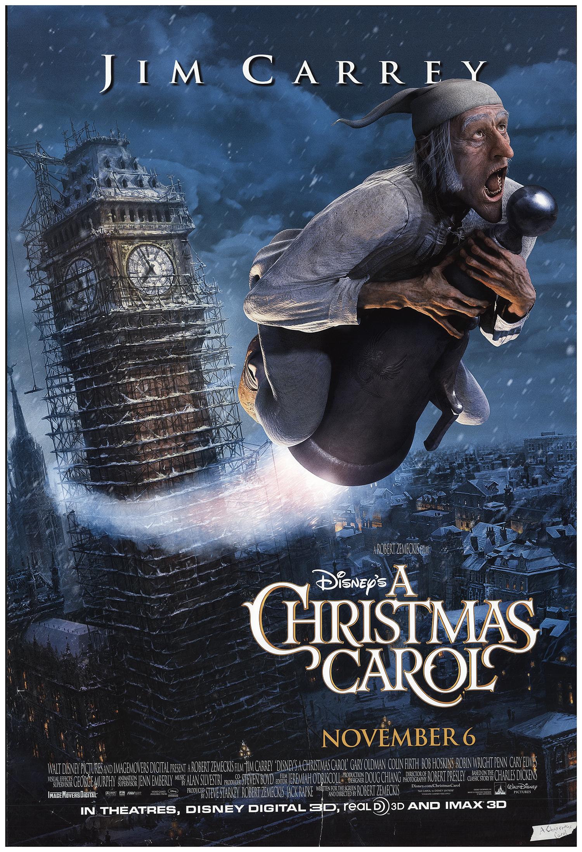 a christmas carol 2009 27x40 orig movie poster fff