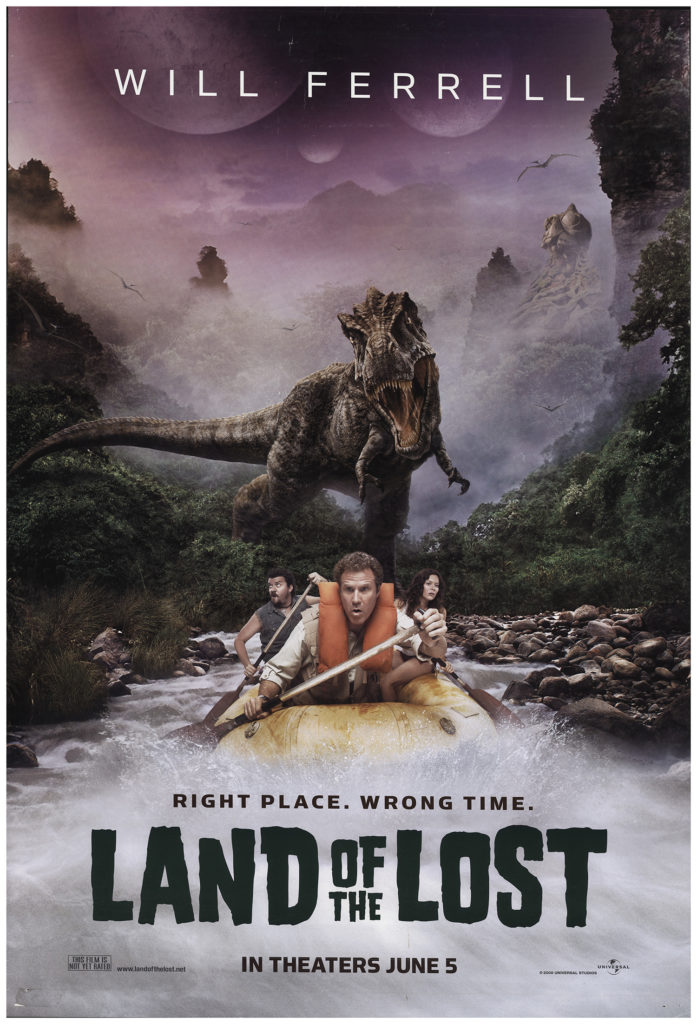 Land of the Lost 2009 Vintage Original Movie Poster