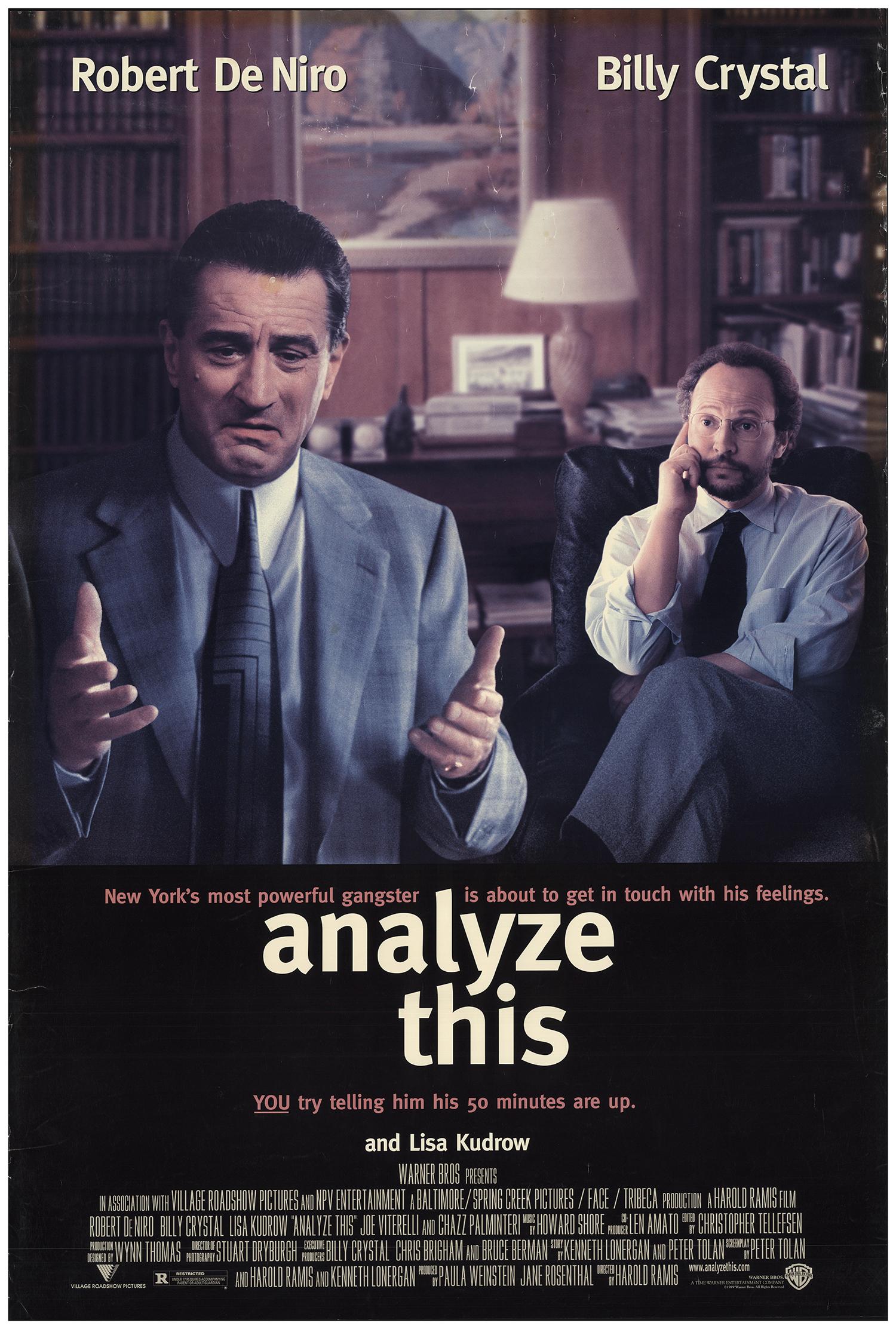 Analyze This 1999 Original Movie Poster Fff 68681 Fffmovieposters Com