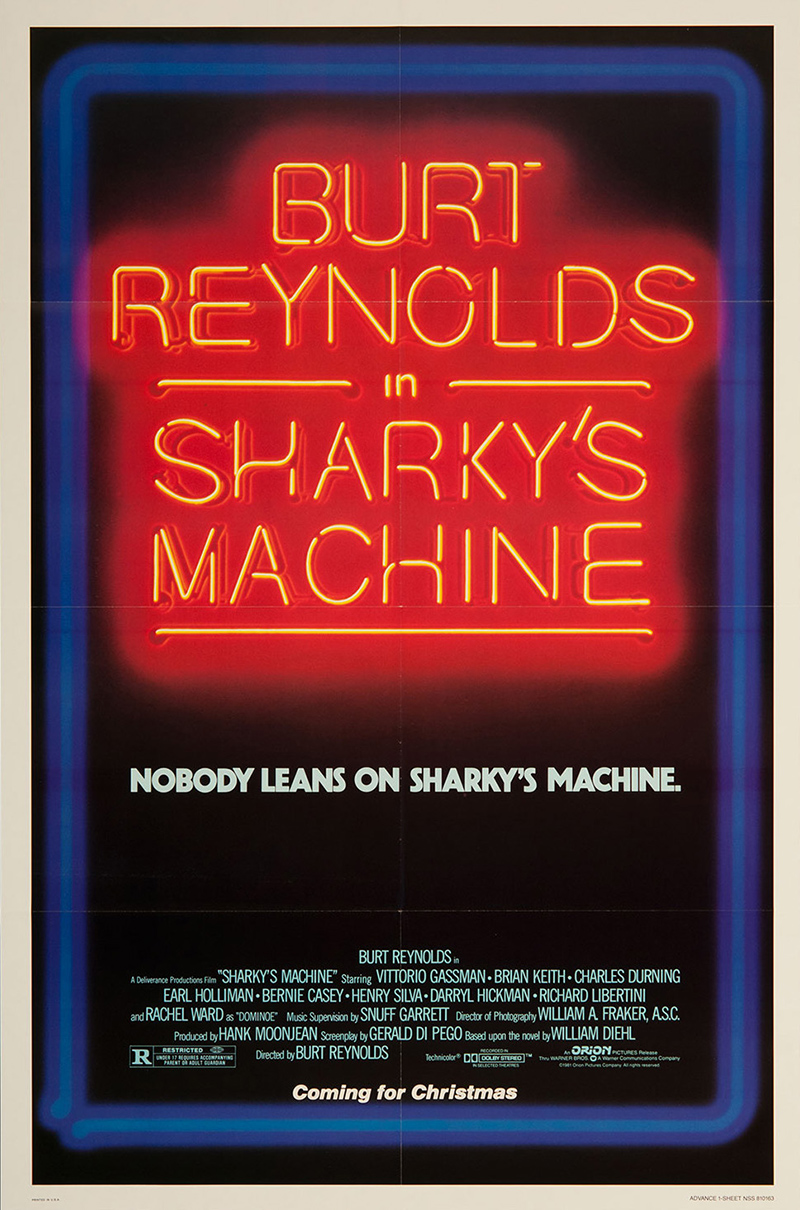 Sharkey's Machine (advance)