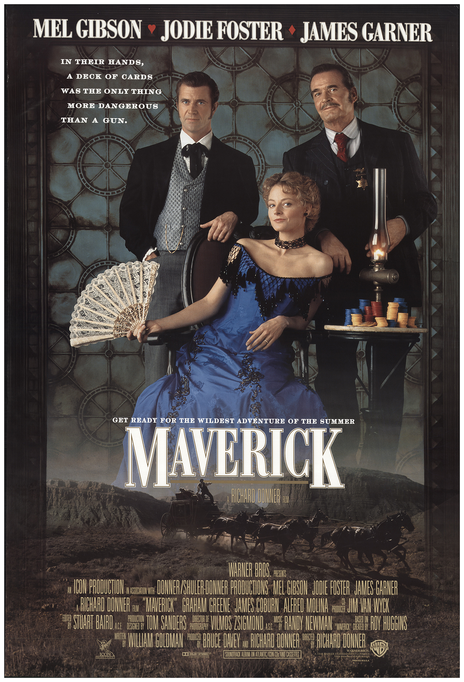Maverick 1994 Original Movie Poster Fff 69204 Fffmovieposters Com