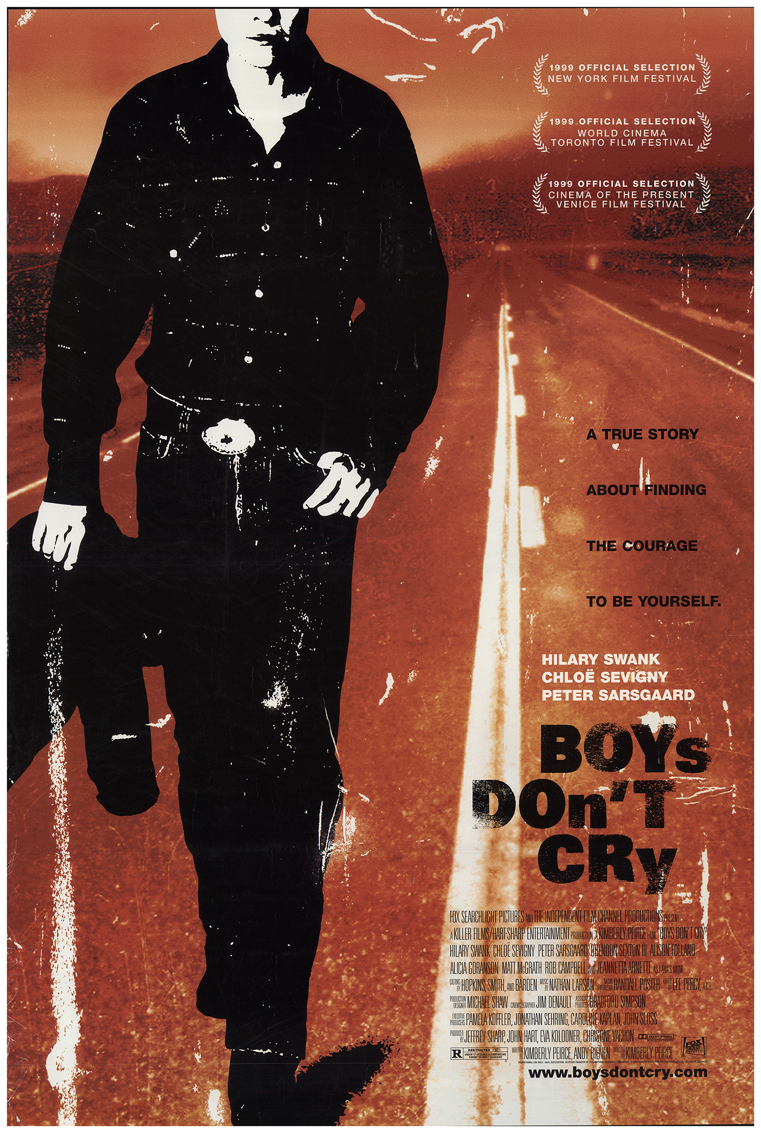 Promotional poster for BOYS DON'T CRY
