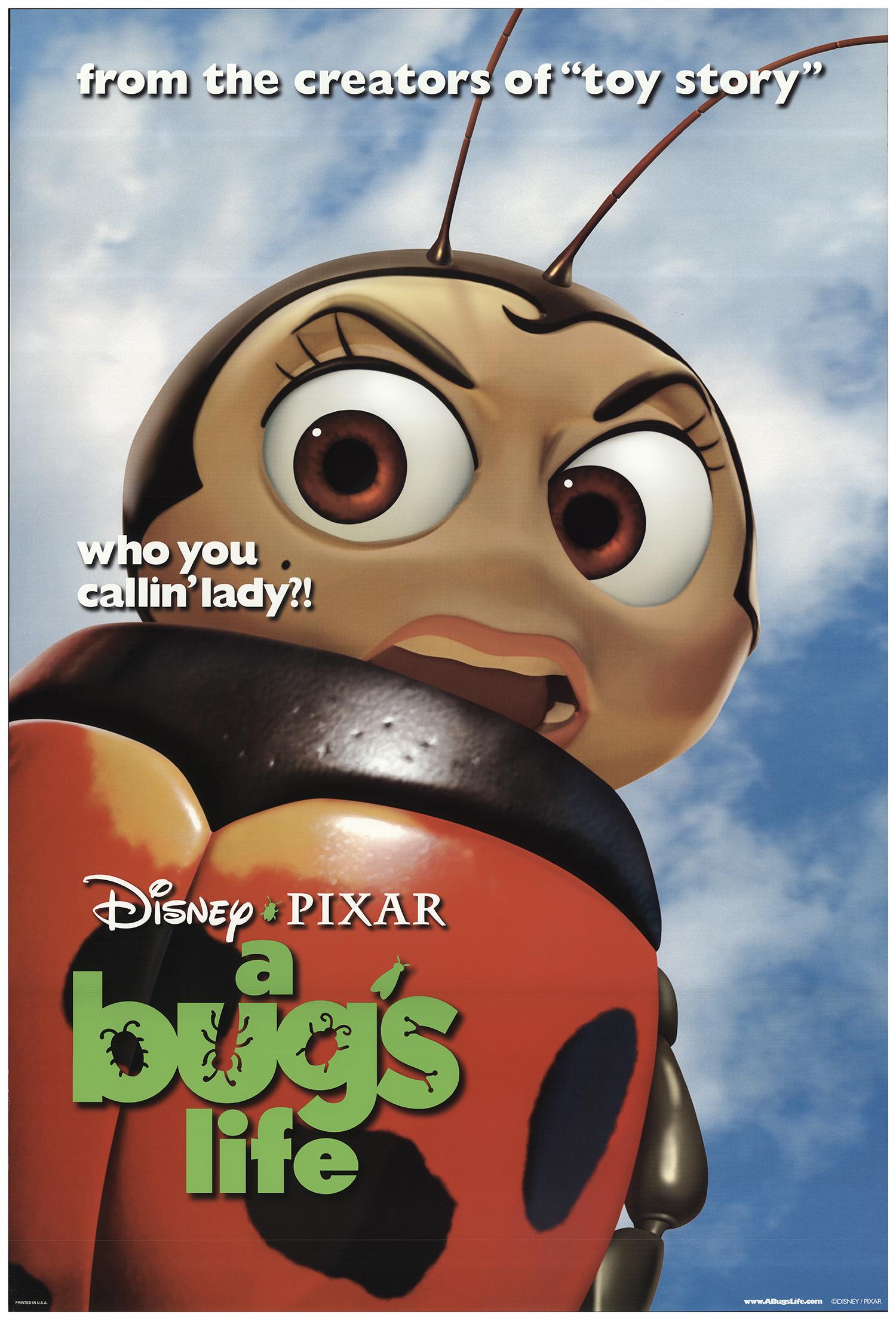 A Bug S Life 1998 Original Movie Poster Fff 73408 Fffmovieposters Com