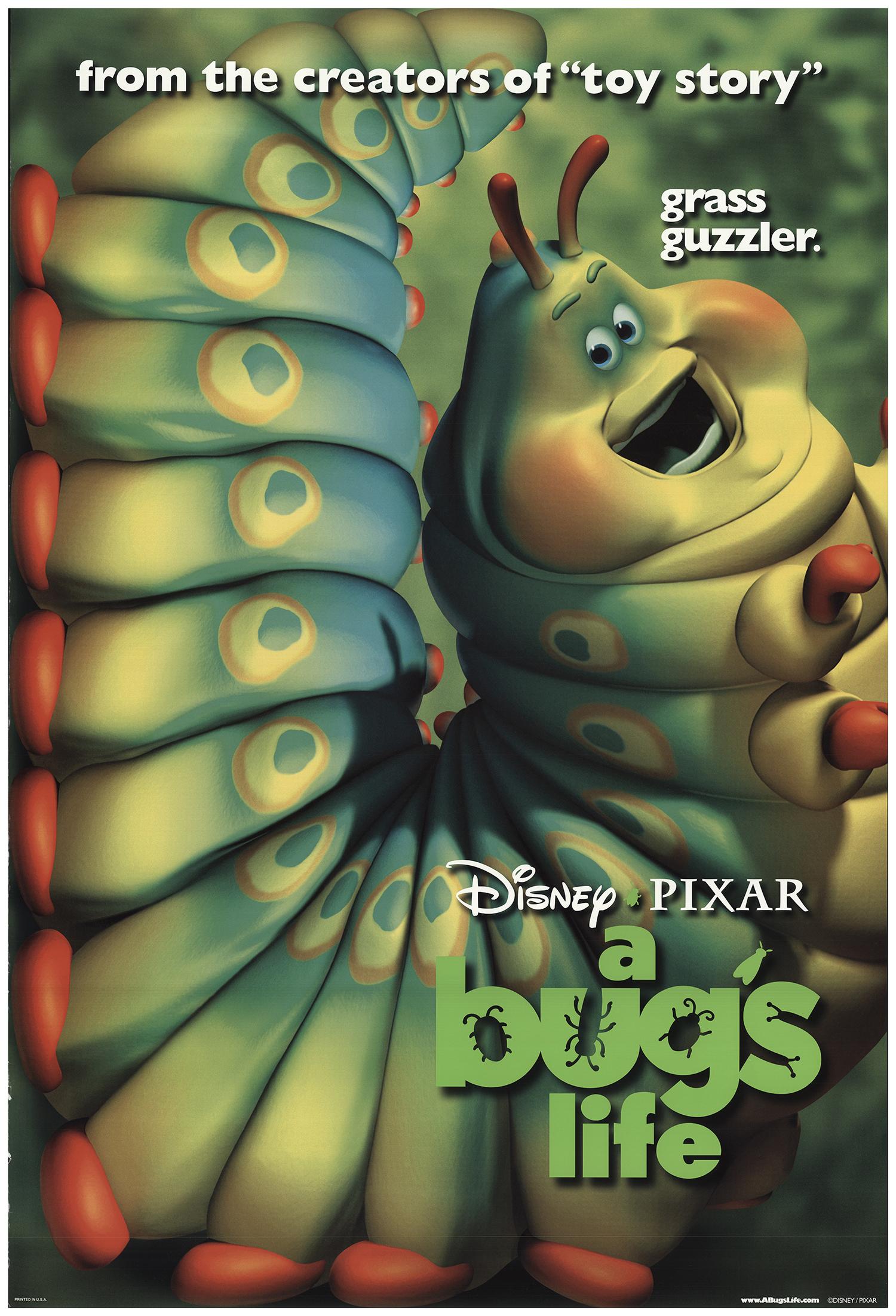 A Bug S Life 1998 Original Movie Poster Fff 73409 Fffmovieposters Com