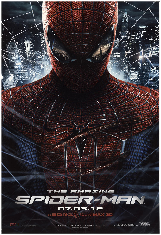 Amazing Spider Man The 2012 Original Movie Poster Fff 73686 Fffmovieposters Com