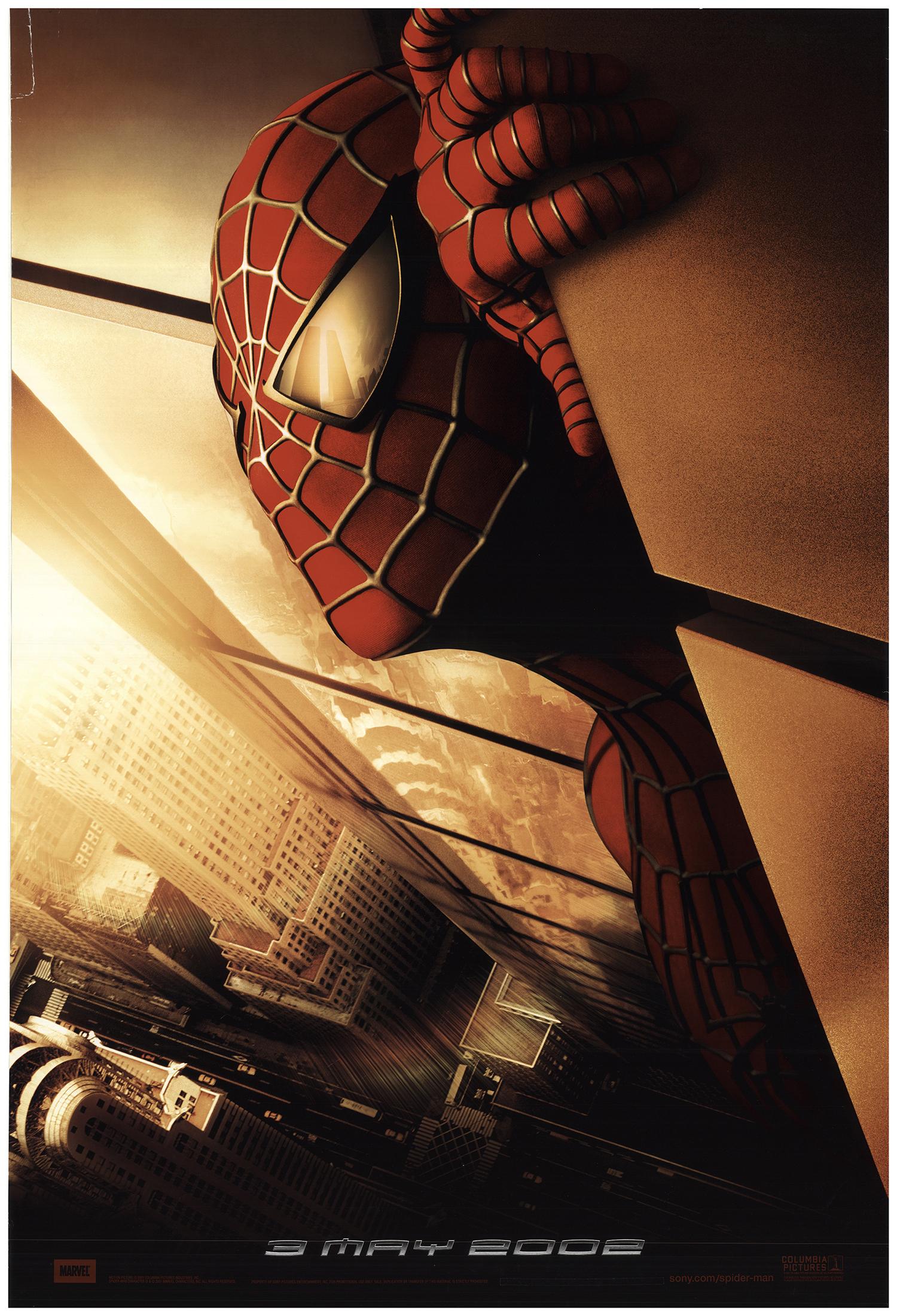Spider Man 2002 Original Movie Poster U S One Sheet Advance Fff 73776