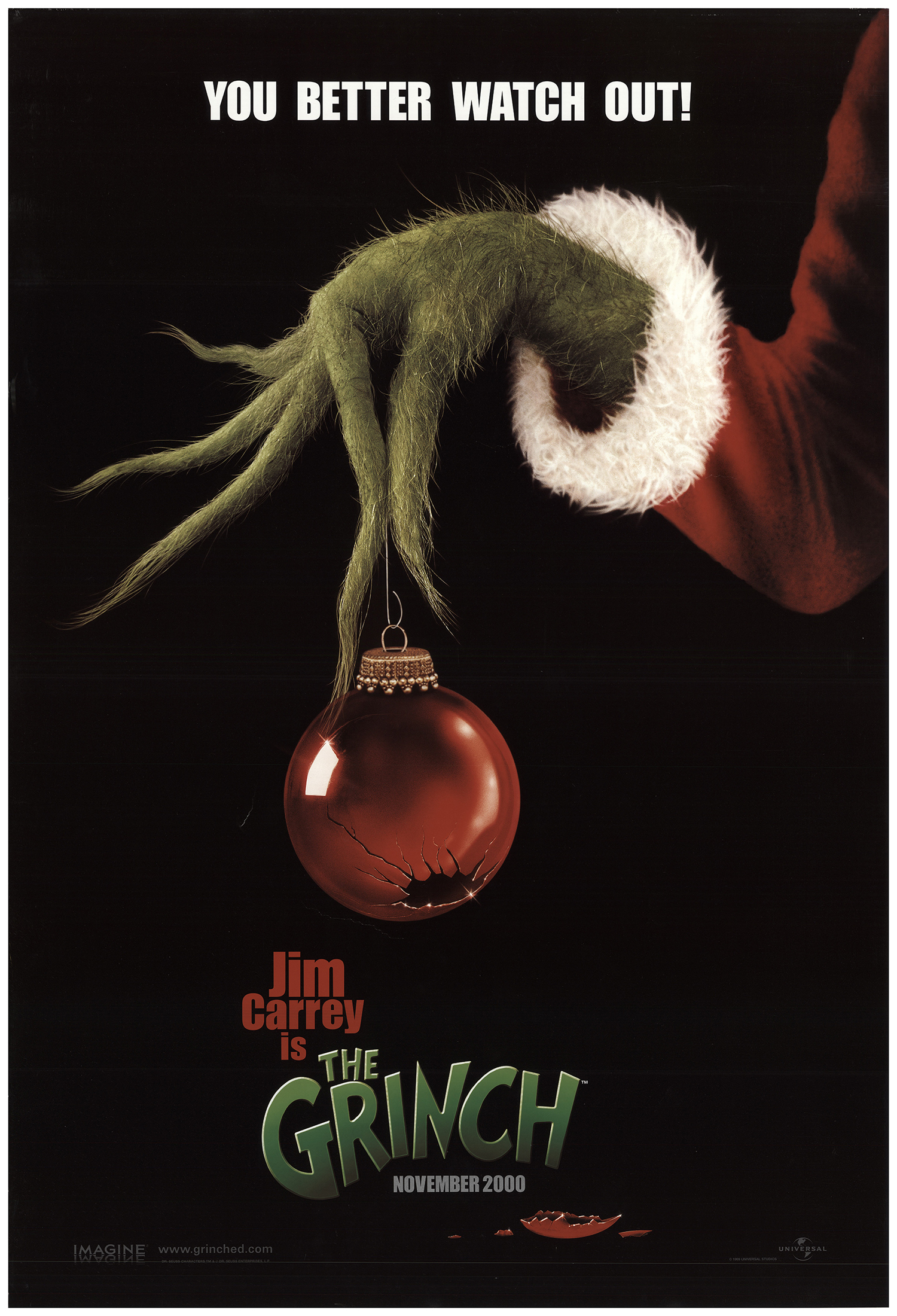 How The Grinch Stole Christmas 2000 Whos.How The Grinch Stole Christmas 2000 Original Movie Poster U S One Sheet Advance Fff 74054