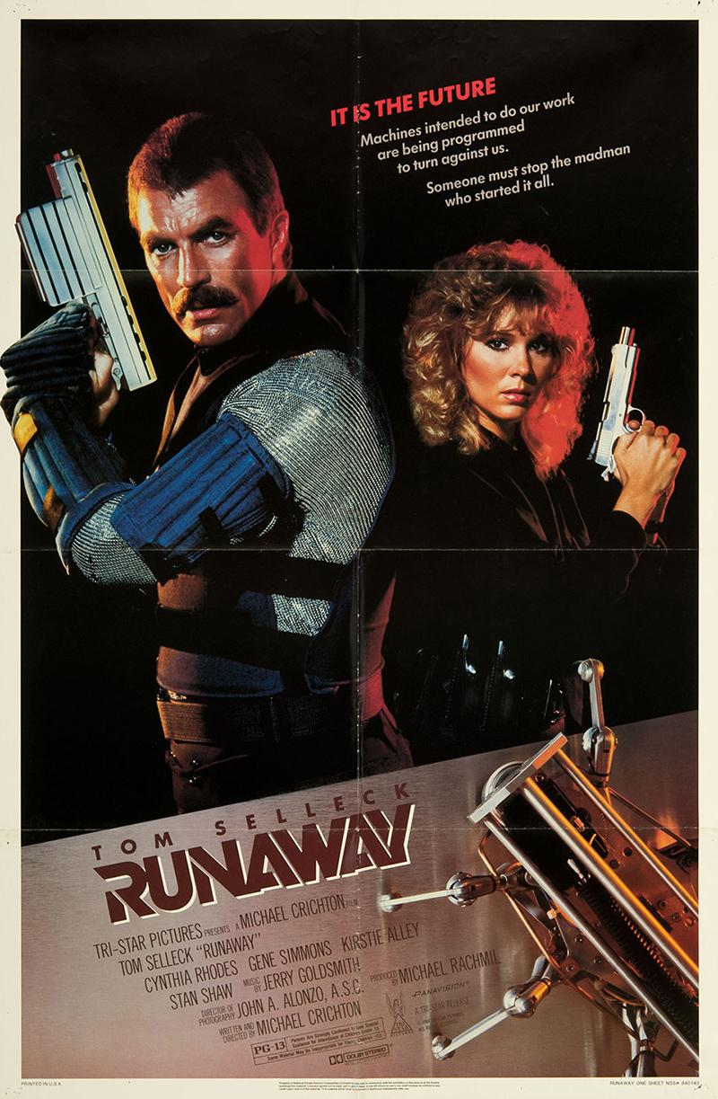 Runaway 1984 Original Movie Poster Fff 07416 Fffmovieposterscom