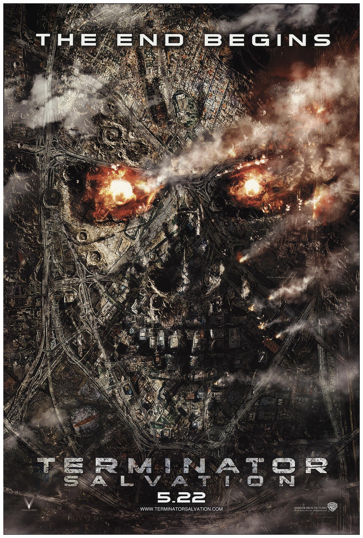 Terminator Salvation 2009 Original Movie Poster Fff 74172 Fffmovieposters Com