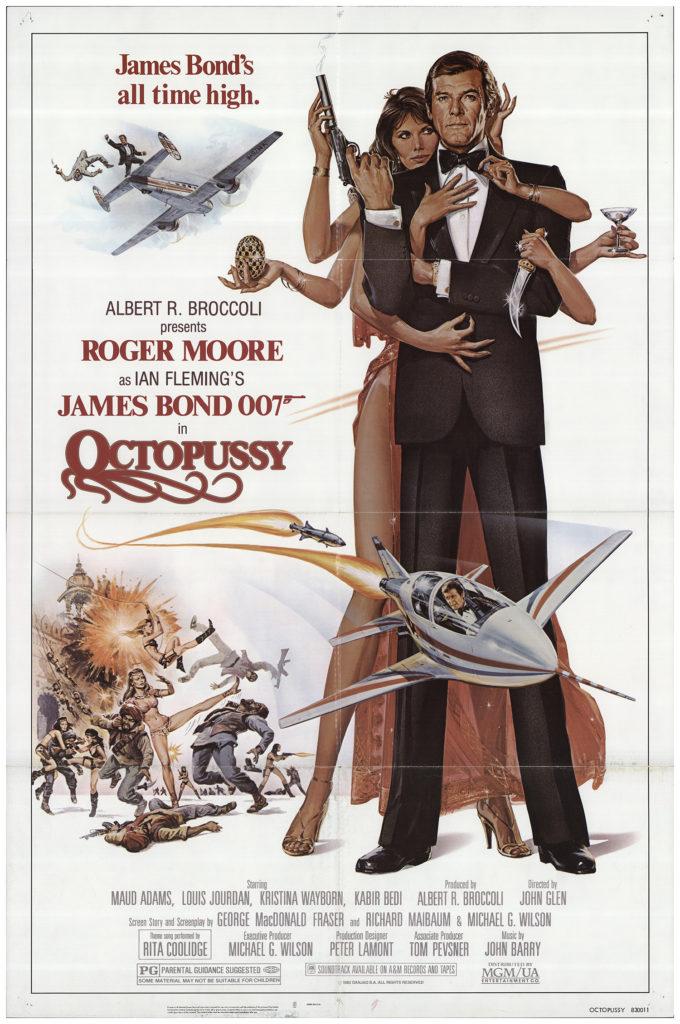 Octopussy 1983 Original Movie Poster #FFF-75024