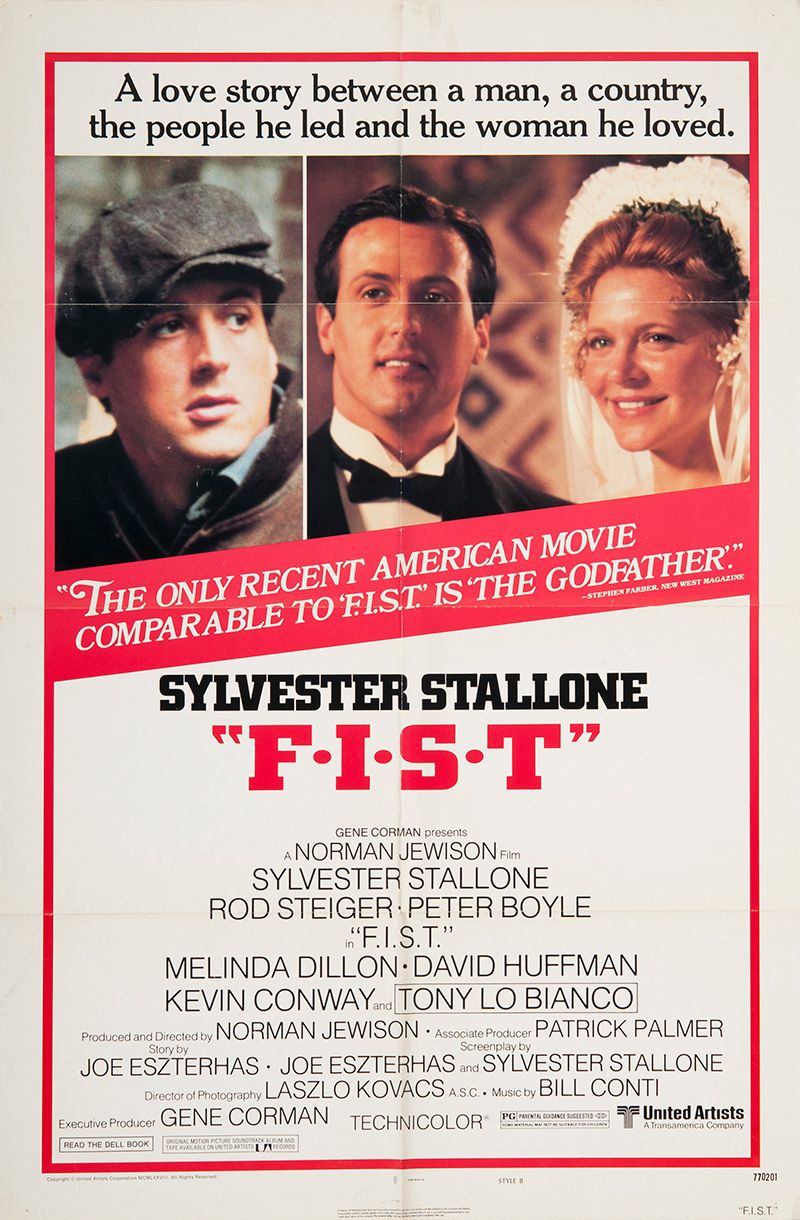 Sylvester Stallone Original Vintage Movie Posters