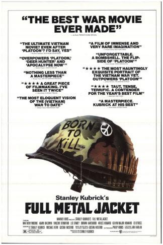 """Full Metal Jacket Poster 27/""""x40/"""""""
