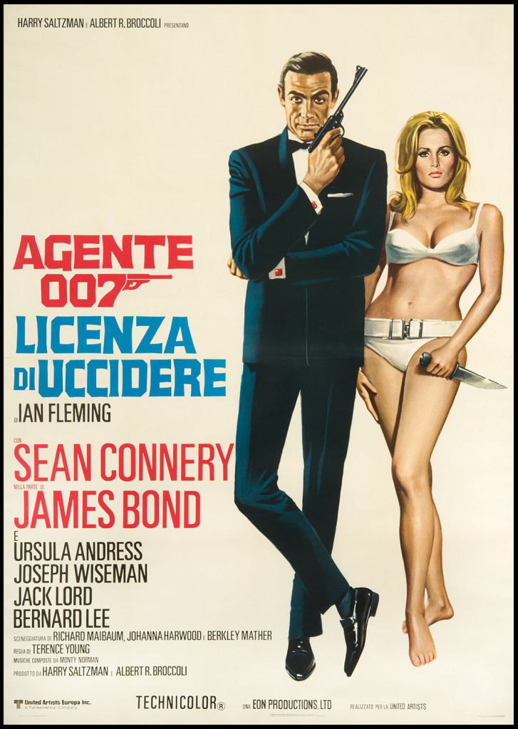 Dr No. Movie Poster
